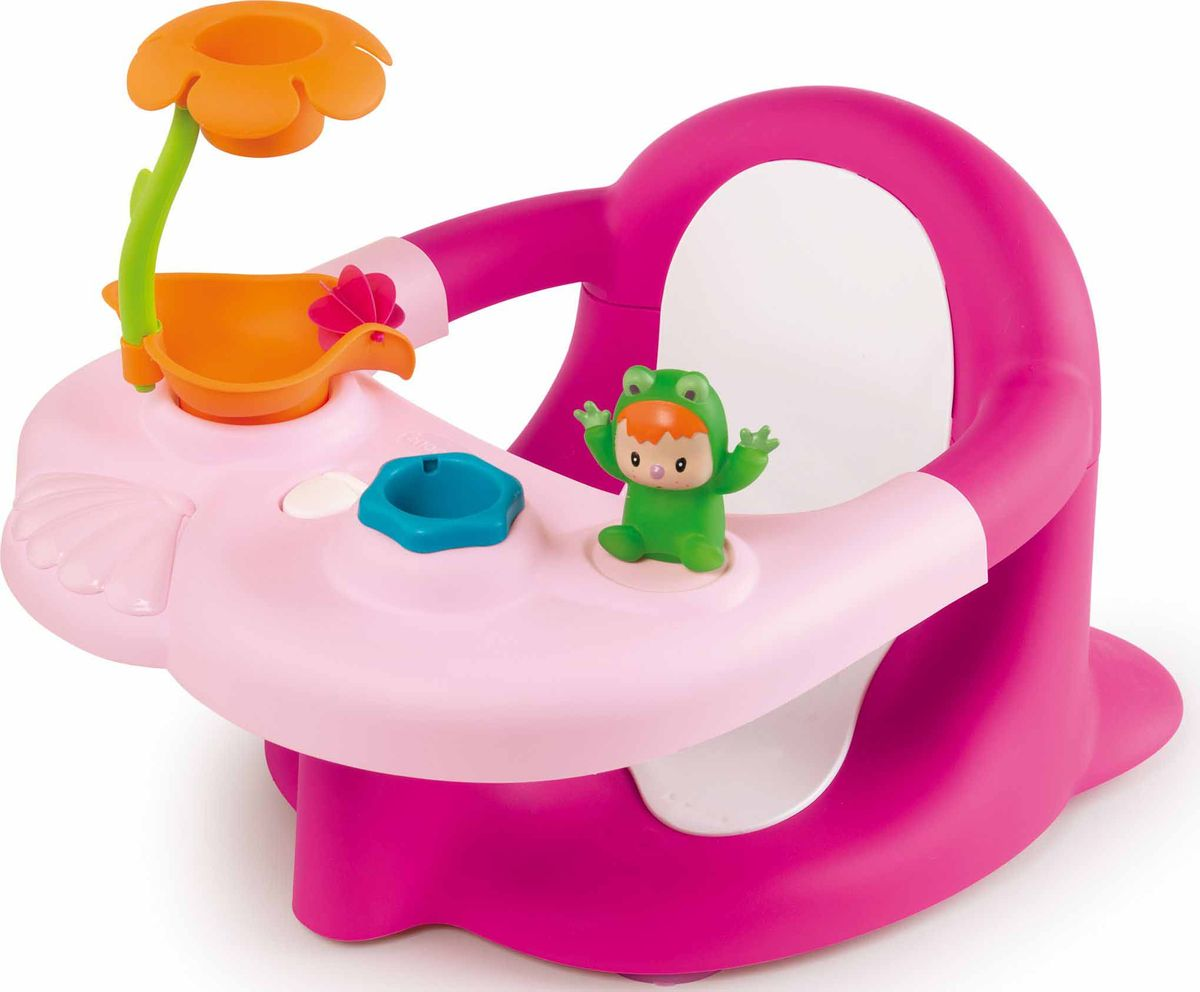 Smoby Стульчик-сидение для ванной цвет розовый -  Все для купания