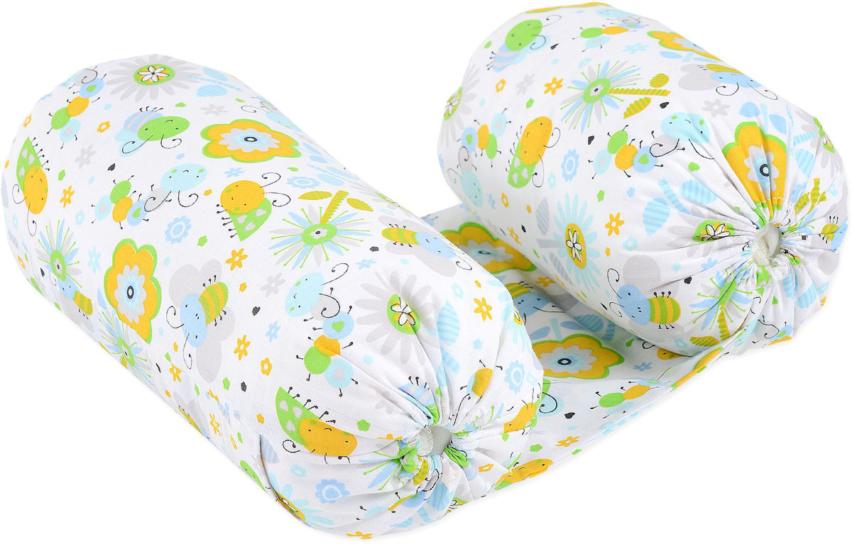 HoneyMammy Позиционер для новорожденных Grano Saraceno Mr.Bug -  Позиционеры, матрасы для пеленания