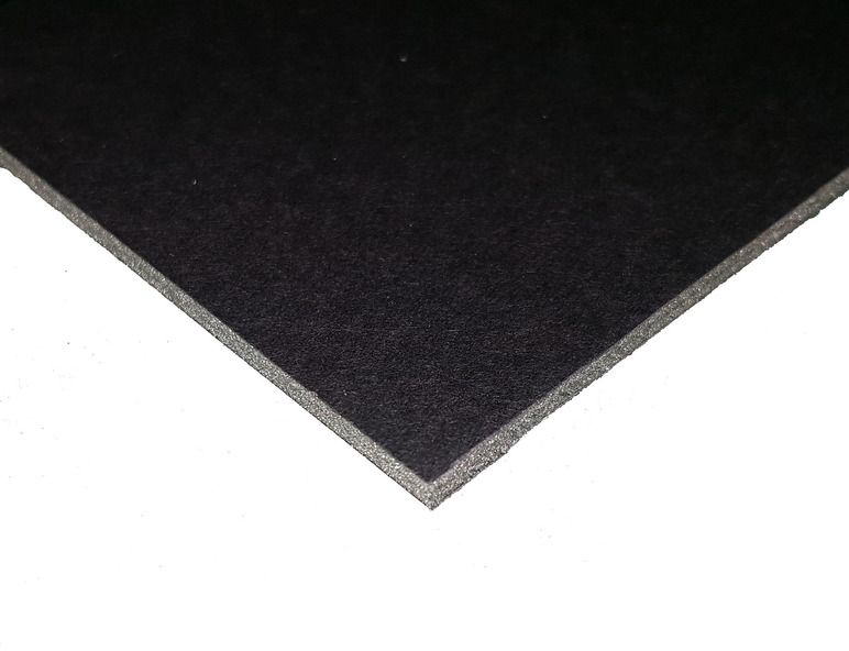 Пенокартон  Decoriton , цвет: черный, 50 х 65 см, 5 шт. 9095008 -  Бумага и картон
