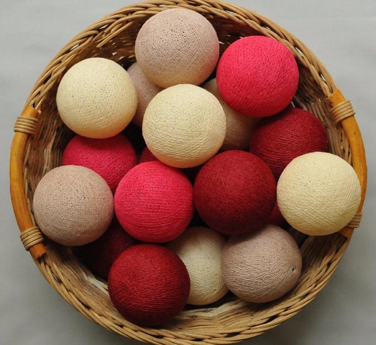 Как сделать шары ручной работы