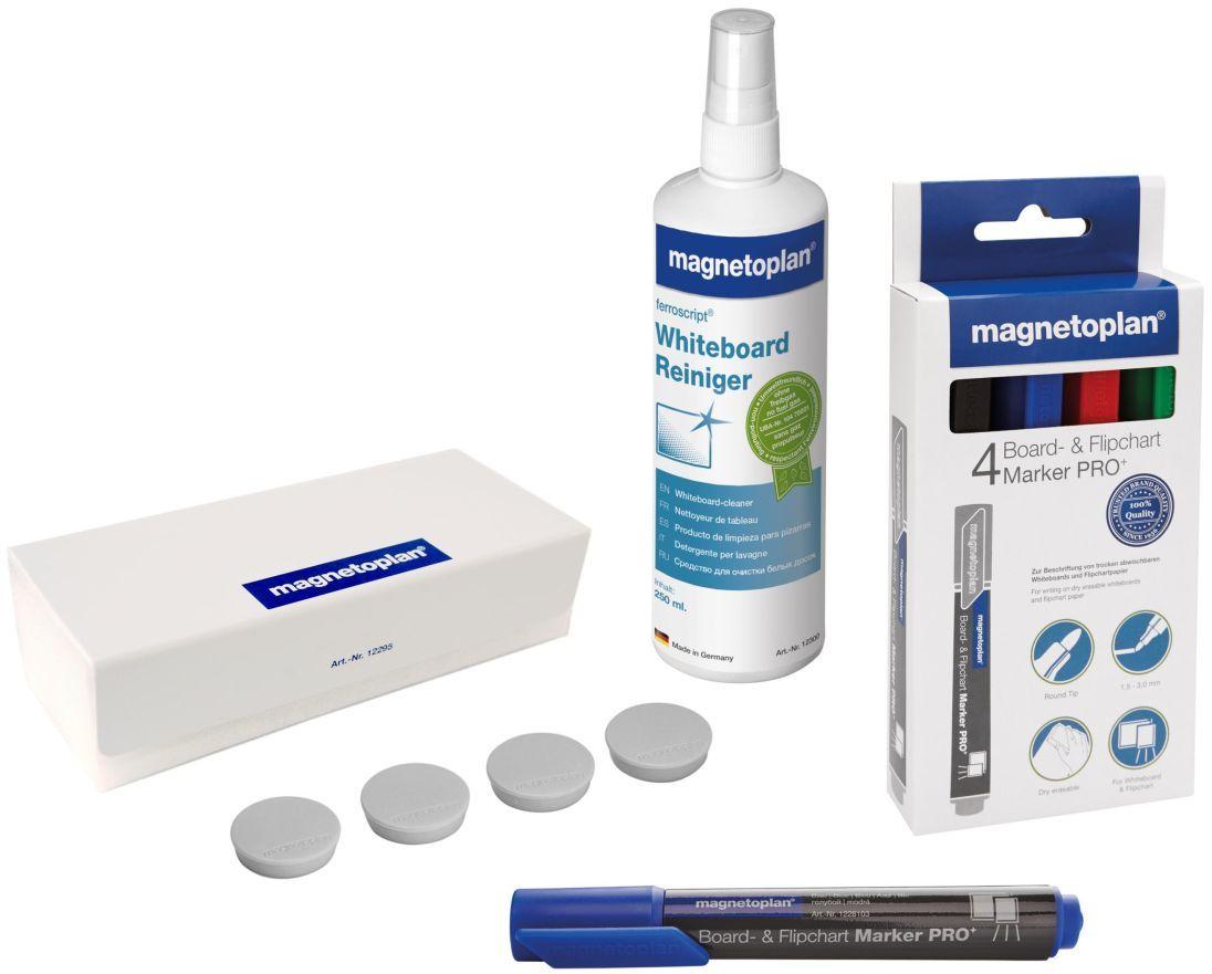 Мини-набор принадлежностей для магнитно-маркерных досок и флипчартов -  Аксессуары для досок и флипчартов