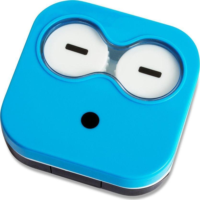 Balvi Набор для контактных линз Emoji, цвет: синий - Аксессуары для контактных линз