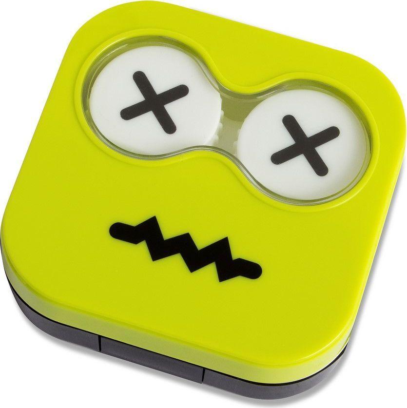 Balvi Набор для контактных линз Emoji, цвет: зеленый - Аксессуары для контактных линз