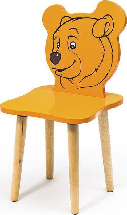 Крошка.RU Джери Стул детский Медвежонок цвет оранжевый -  Детская комната