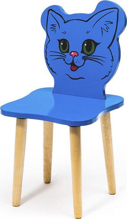 Крошка.RU Джери Стул детский Киса цвет голубой -  Детская комната