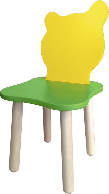 Крошка.RU Джери Стул детский цвет зеленый желтый -  Детская комната