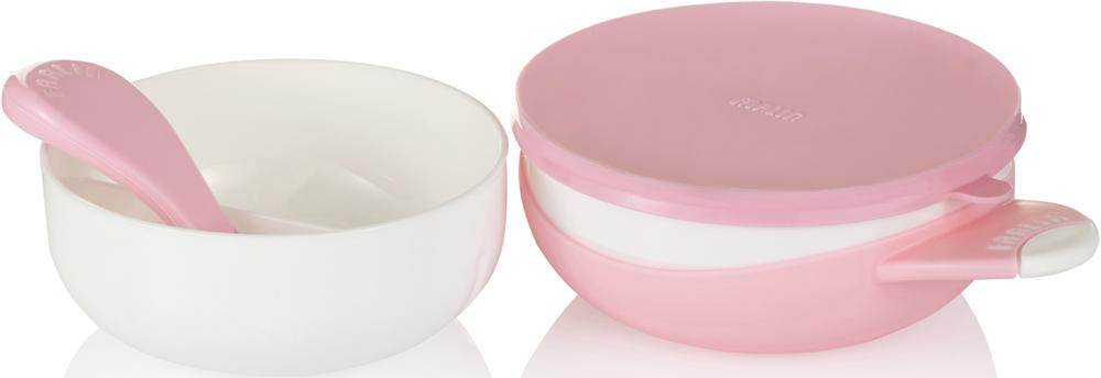 Farlin Набор посуды для кормления цвет розовый 4 предмета -  Все для детского кормления