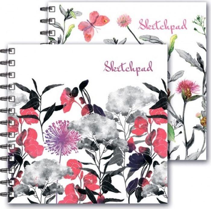 Феникс+ Альбом для эскизов Цветы 80 листов -  Бумага и картон