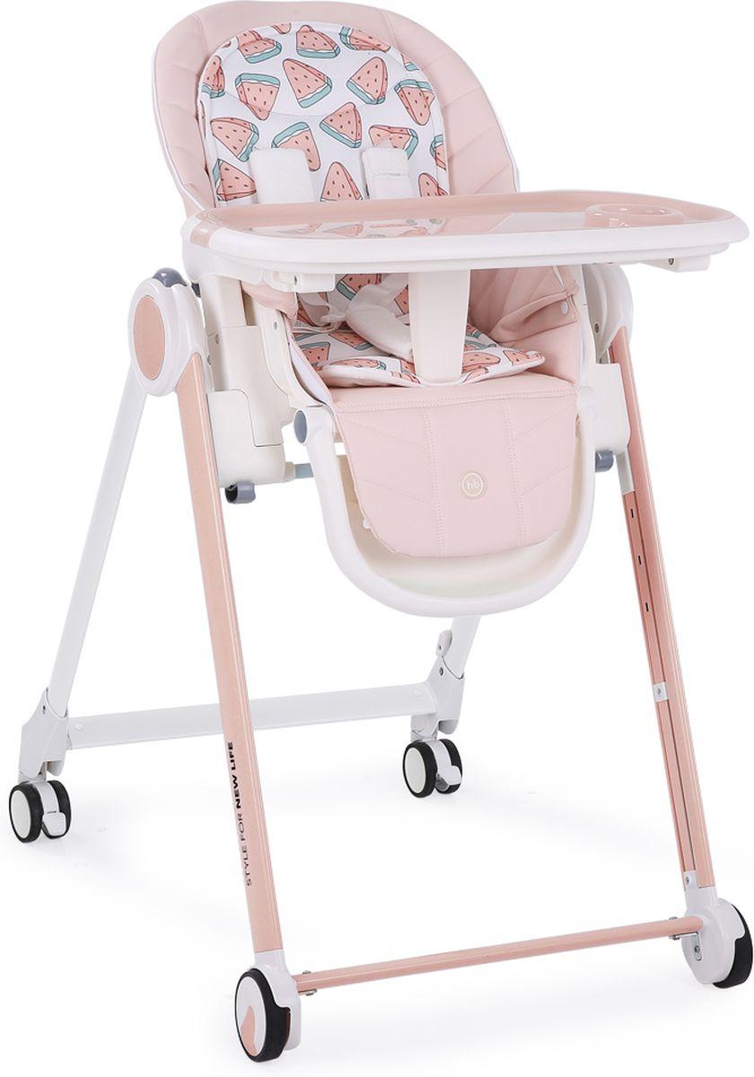 Happy Baby Стульчик для кормления Berny цвет розовый -  Стульчики для кормления