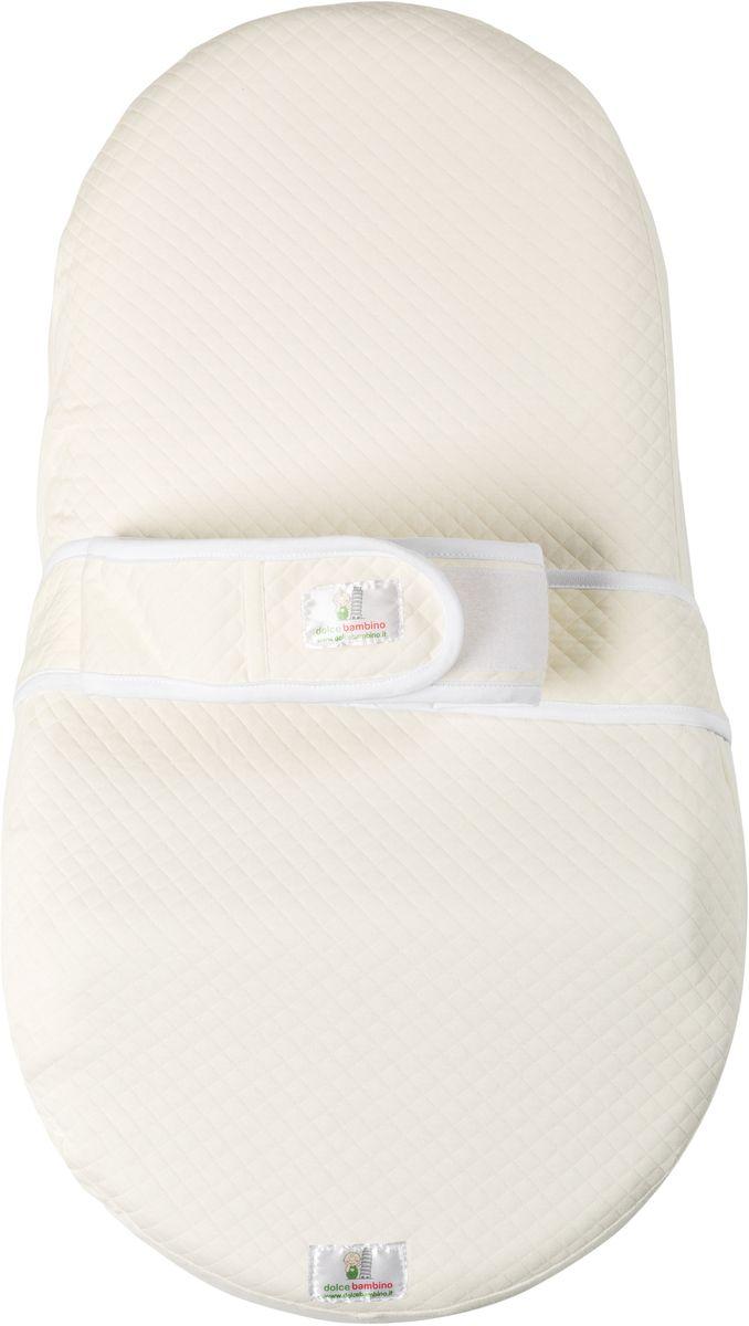 Dolce Bambino Матрас-кокон для новорожденных Dolce Cocon цвет бежевый 70 х 41 см -  Позиционеры, матрасы для пеленания