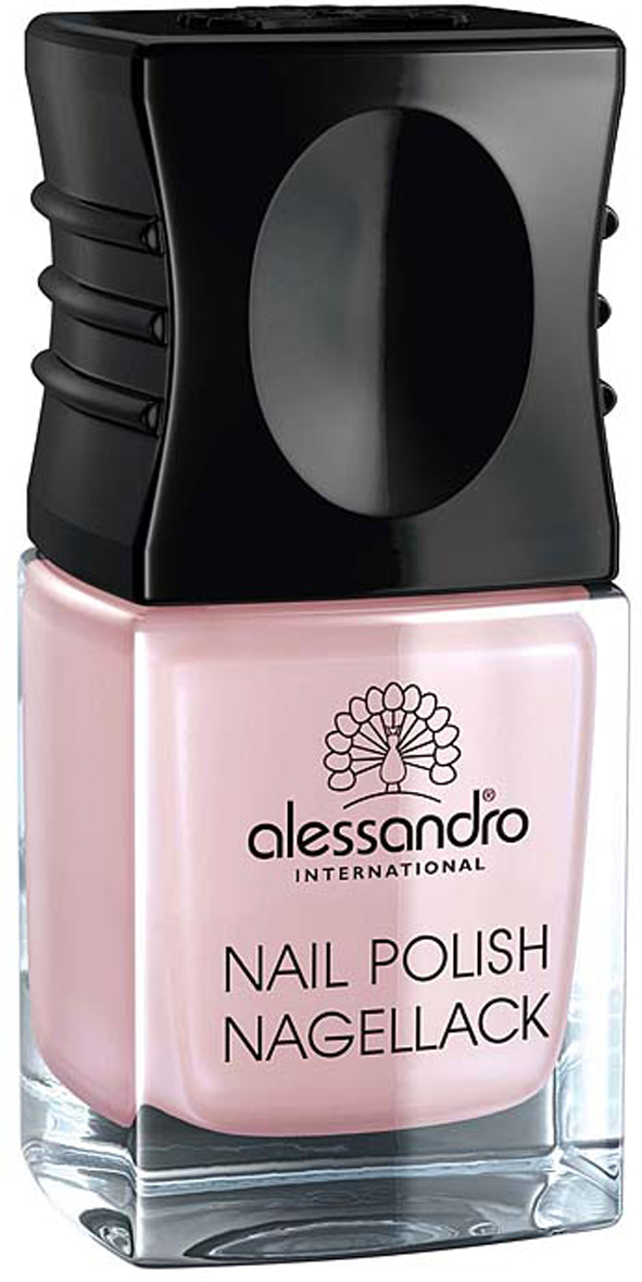 Alessandro Лак для ногтей  Nagellack. Розовый сатин , 10 мл