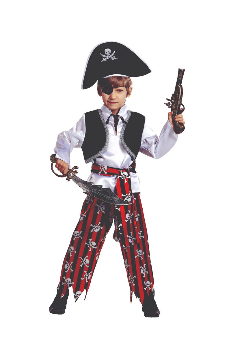 Батик Костюм карнавальный для мальчика Пират размер 40 -  Карнавальные костюмы и аксессуары