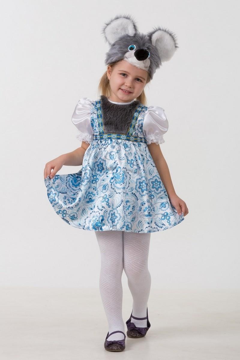 Батик Костюм карнавальный для девочки Мышка Варварка размер 30 -  Карнавальные костюмы и аксессуары