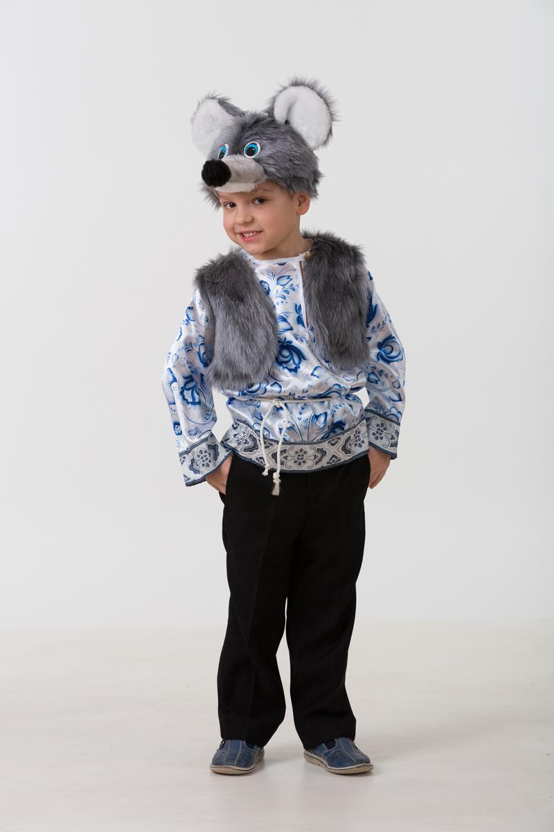 Батик Костюм карнавальный для мальчика Мышонок Филипка размер 32 -  Карнавальные костюмы и аксессуары
