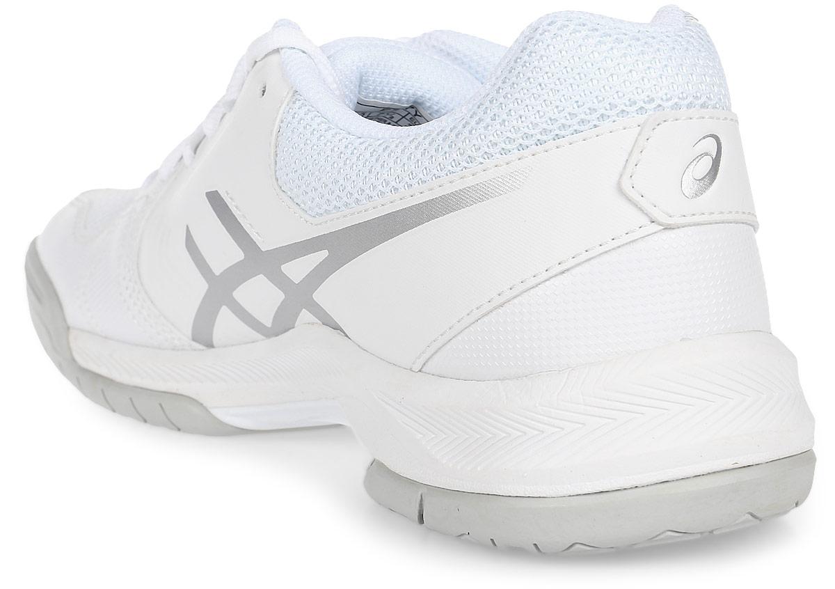 a04441b6 Кроссовки женские Asics Gel-Dedicate 5, цвет: белый, серебристый ...