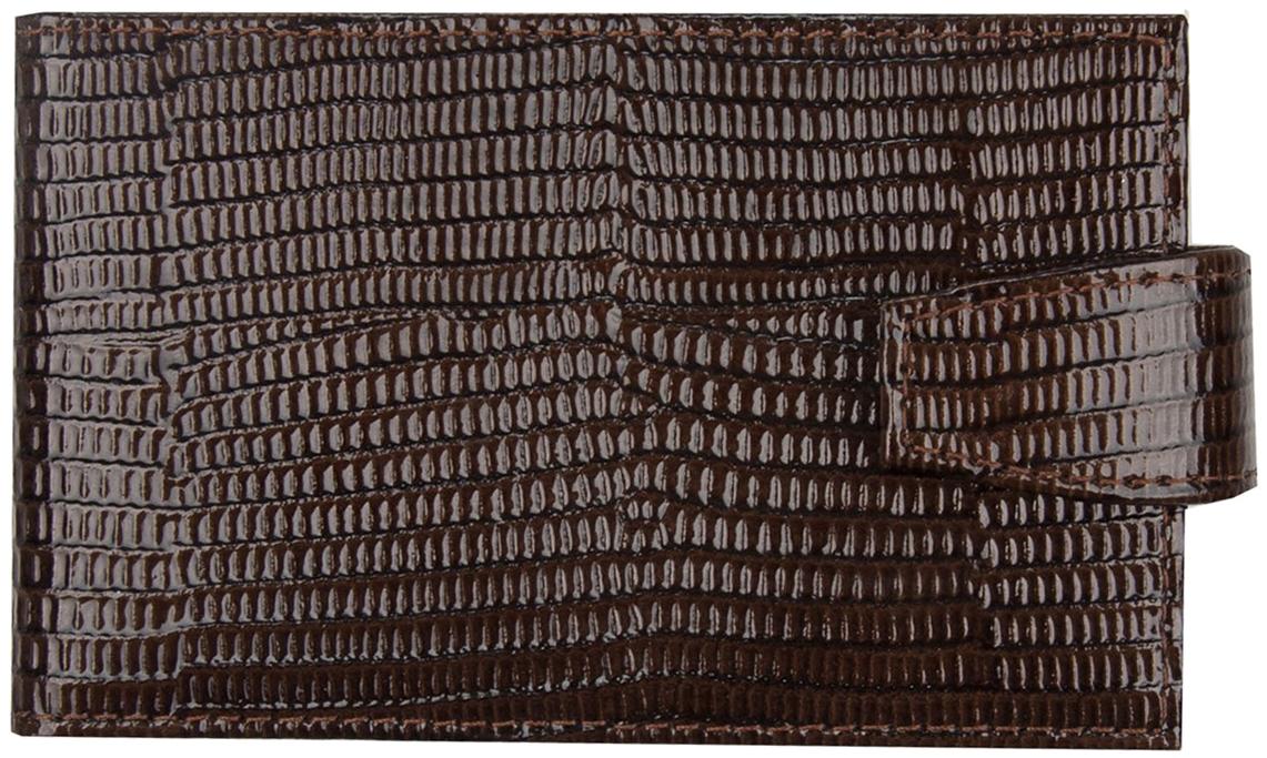 Визитница мужская Alliance, цвет: коричневый. 0-47-35 -  Визитницы