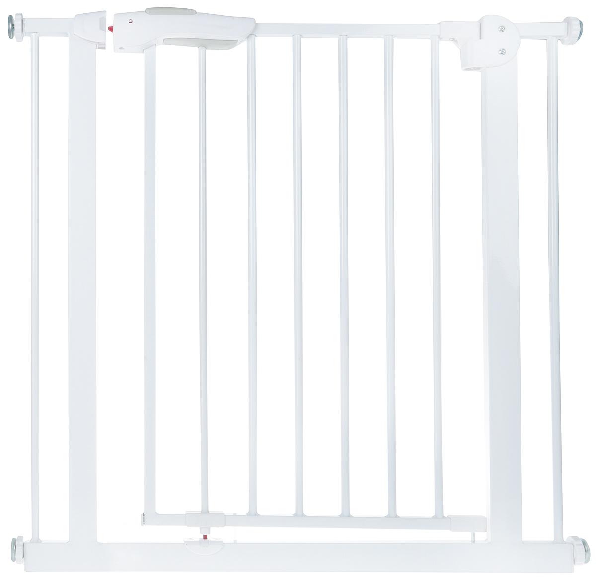Baby Safe Барьер-калитка для дверного проема 75-85 см цвет белый -  Блокирующие и защитные устройства