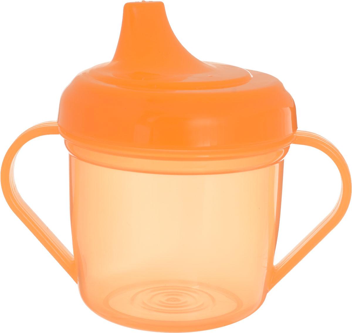 Mum&Baby Поильник цвет оранжевый 200 мл -  Поильники