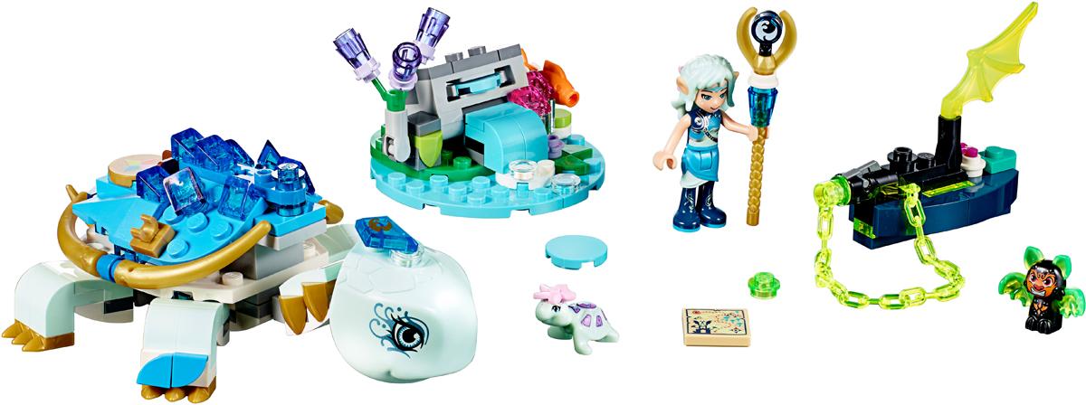 Lego elves лодка наиды
