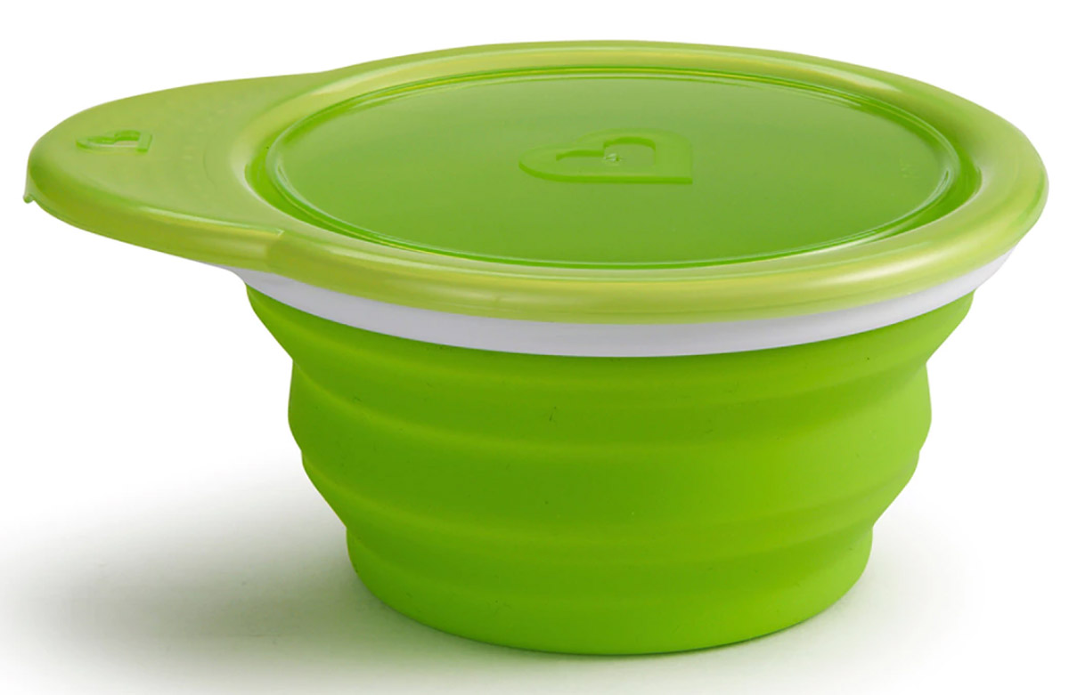 Munchkin Контейнер для еды для детей от 1 года цвет салатовый -  Все для детского кормления