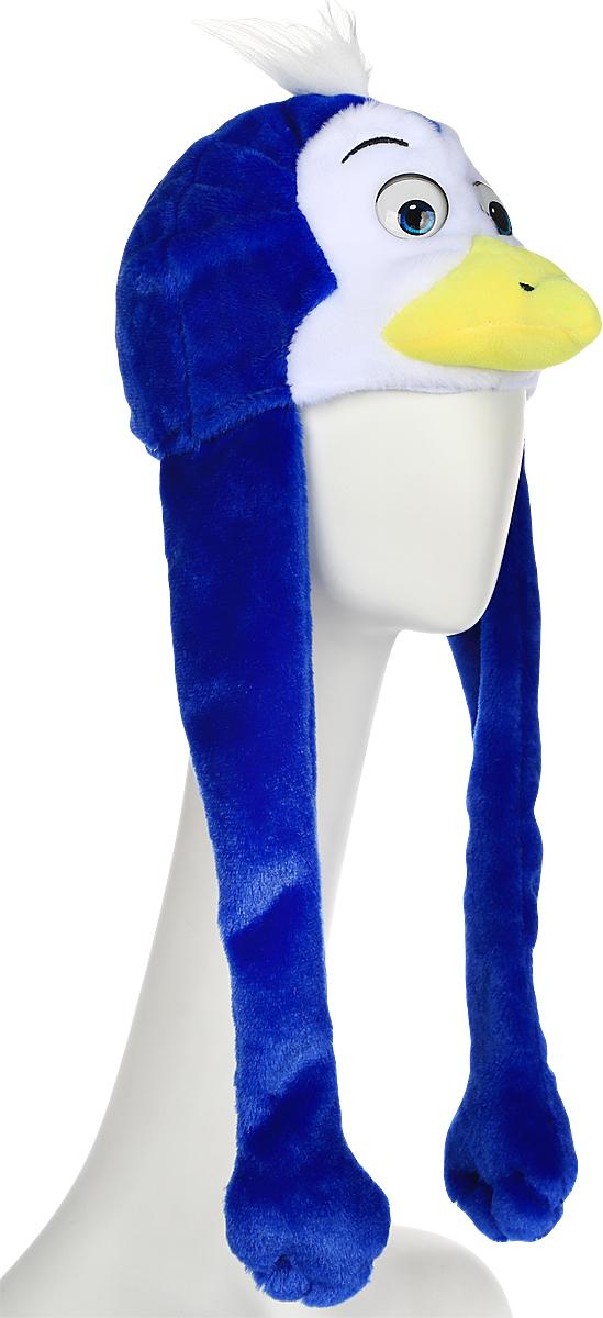 Карнавалия Карнавальная шляпа Пингвинчик цвет синий размер 54 -  Карнавальные костюмы и аксессуары