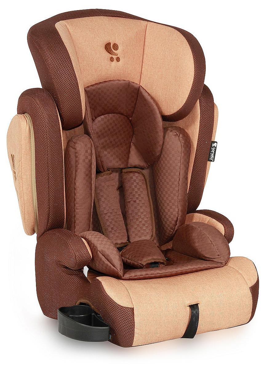 Lorelli Автокресло Omega SPS цвет коричневый от 9 до 36 кг -  Автокресла и аксессуары