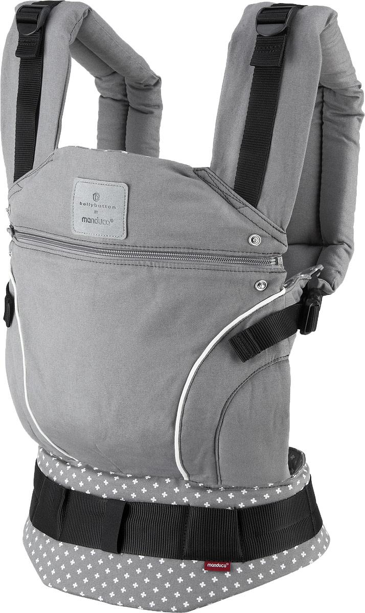 Manduca Слинг-рюкзак bellybutton WildCrosses цвет серый -  Рюкзаки, слинги, кенгуру