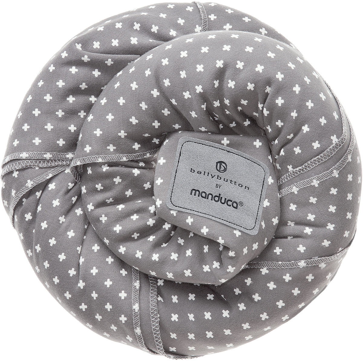 Manduca Слинг-шарф bellybutton WildCrosses цвет серый -  Рюкзаки, слинги, кенгуру