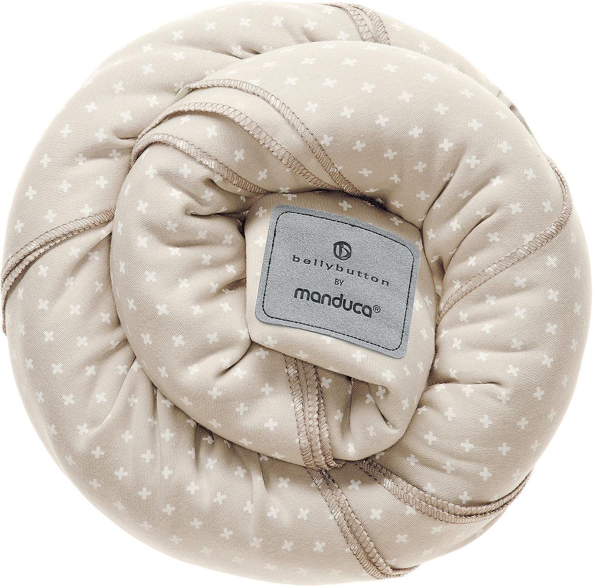 Manduca Слинг-шарф bellybutton WildCrosses цвет песочный -  Рюкзаки, слинги, кенгуру