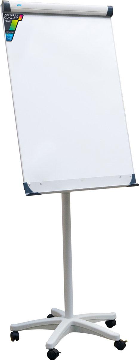 Hatber Флипчарт передвижной магнитно-маркерный с полочкой для аксессуаров 70 х 100 см -  Доски