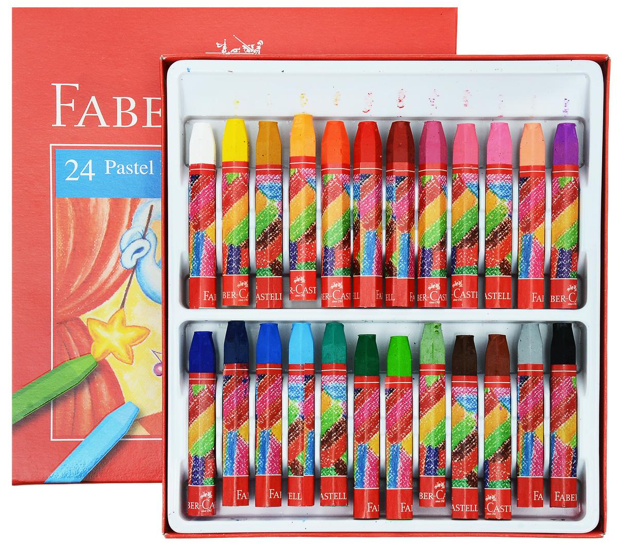 Масляная пастель  Faber-Castell , 24 цвета -  Мелки и пастель