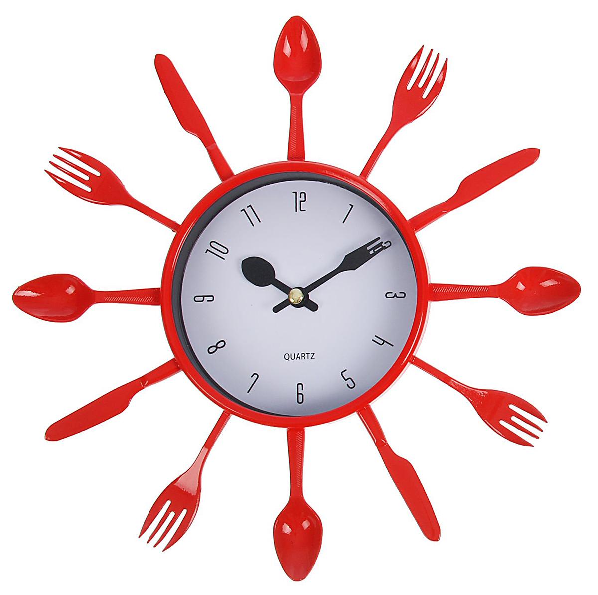 Часы на кухне в интерьере: более 90 фотографий и пояснения.