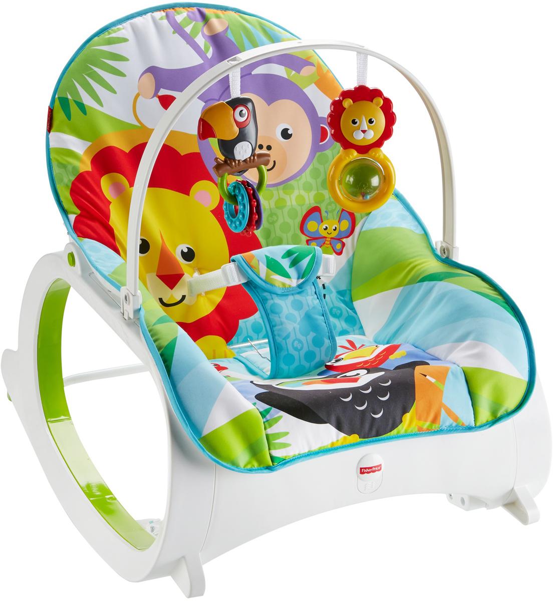 Fisher-Price Core Кресло-качалка детское Растем вместе -  Ходунки, прыгунки, качалки