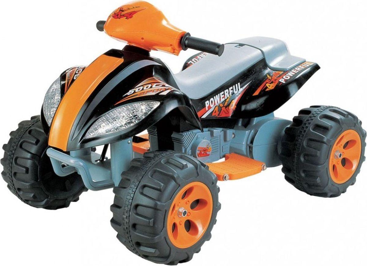 Квадроцикл на аккумуляторе цвет черный JA-B03 -  Электромобили