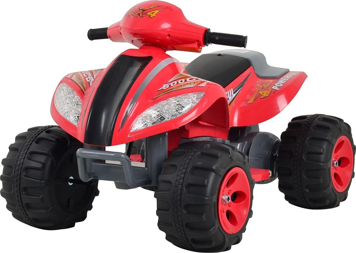 Квадроцикл на аккумуляторе цвет красный JA-B03 -  Электромобили