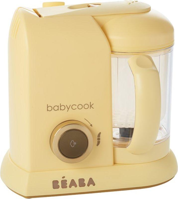 Beaba Блендер-пароварка Babycook Macaron цвет кремовый -  Все для детского кормления