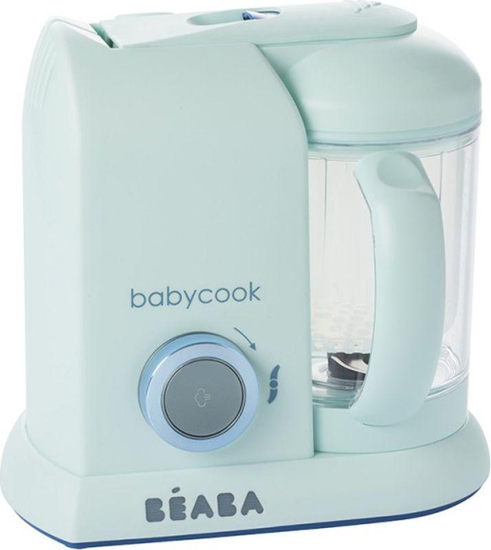 Beaba Блендер-пароварка Babycook Macaron цвет голубой -  Все для детского кормления