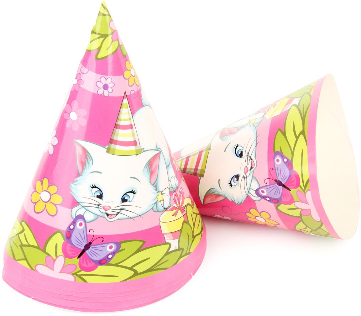 Веселый хоровод Набор колпаков Розовая Фантазия 20 см 6 шт KL63409 -  Колпаки и шляпы