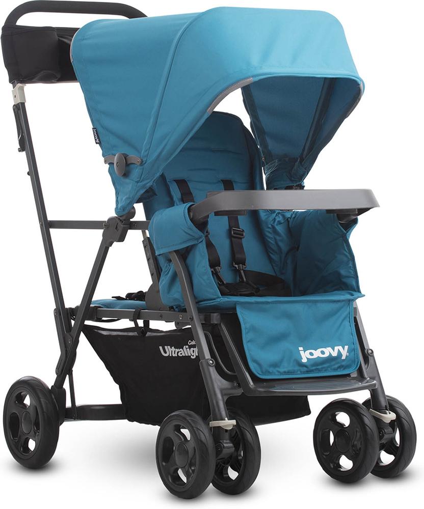 Joovy Коляска Caboose Graphite Ultralight цвет голубой -  Коляски и аксессуары