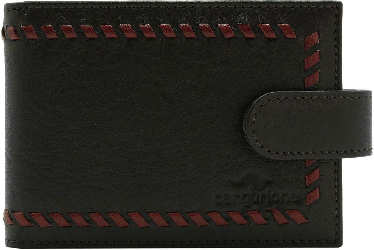Визитница мужская Cangurione, цвет: темно-коричневый. 3312-002 -  Визитницы