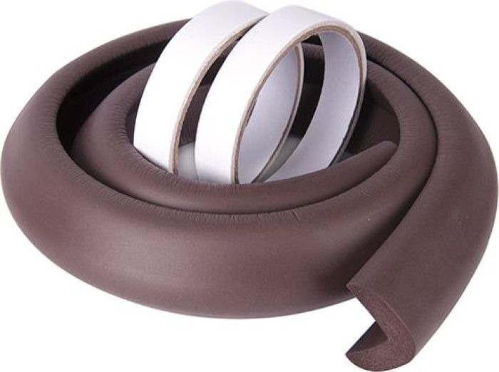 ПОМА Мягкая безопасная лента с дополнительным набором наклеек цвет кориченвый 1 м -  Блокирующие и защитные устройства