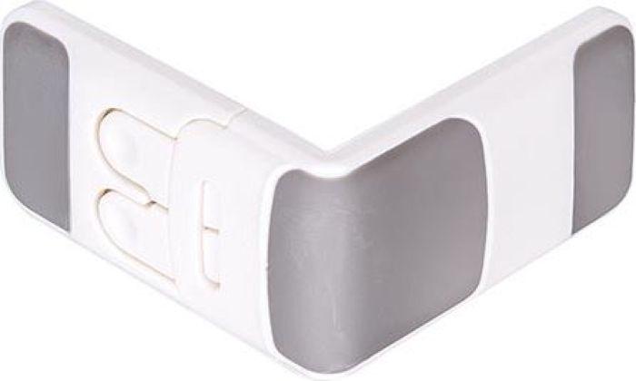ПОМА Фиксатор прямоугольный для тумбочек и одностворчатых шкафов 1 шт -  Блокирующие и защитные устройства