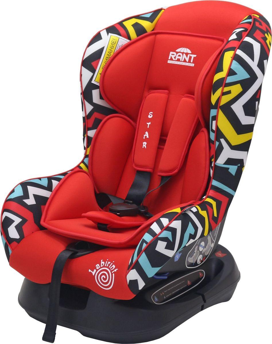 Rant Автокресло Star Labirint цвет красный до 18 кг -  Автокресла и аксессуары
