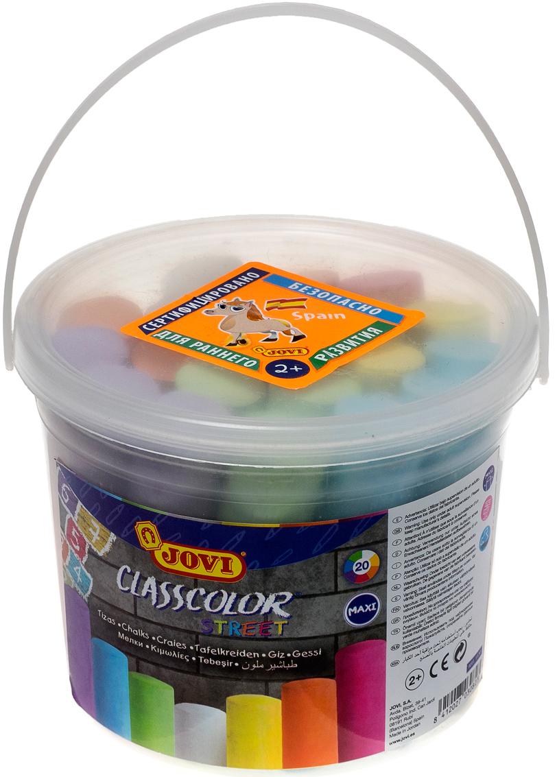 Jovi Мел круглый большой 20 цветов -  Мелки и пастель