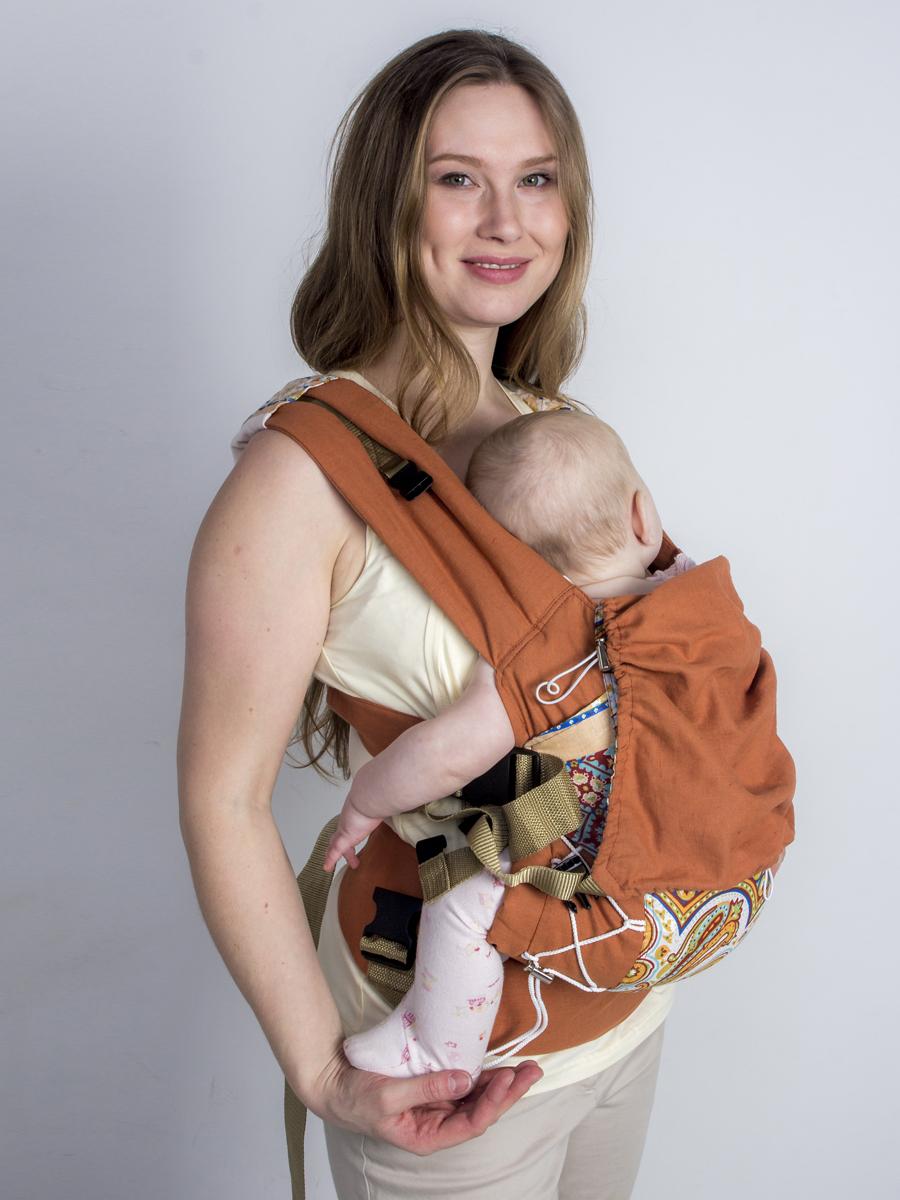 Мамарада Эрго рюкзак лайт Камелия размер 42-52 -  Рюкзаки, слинги, кенгуру
