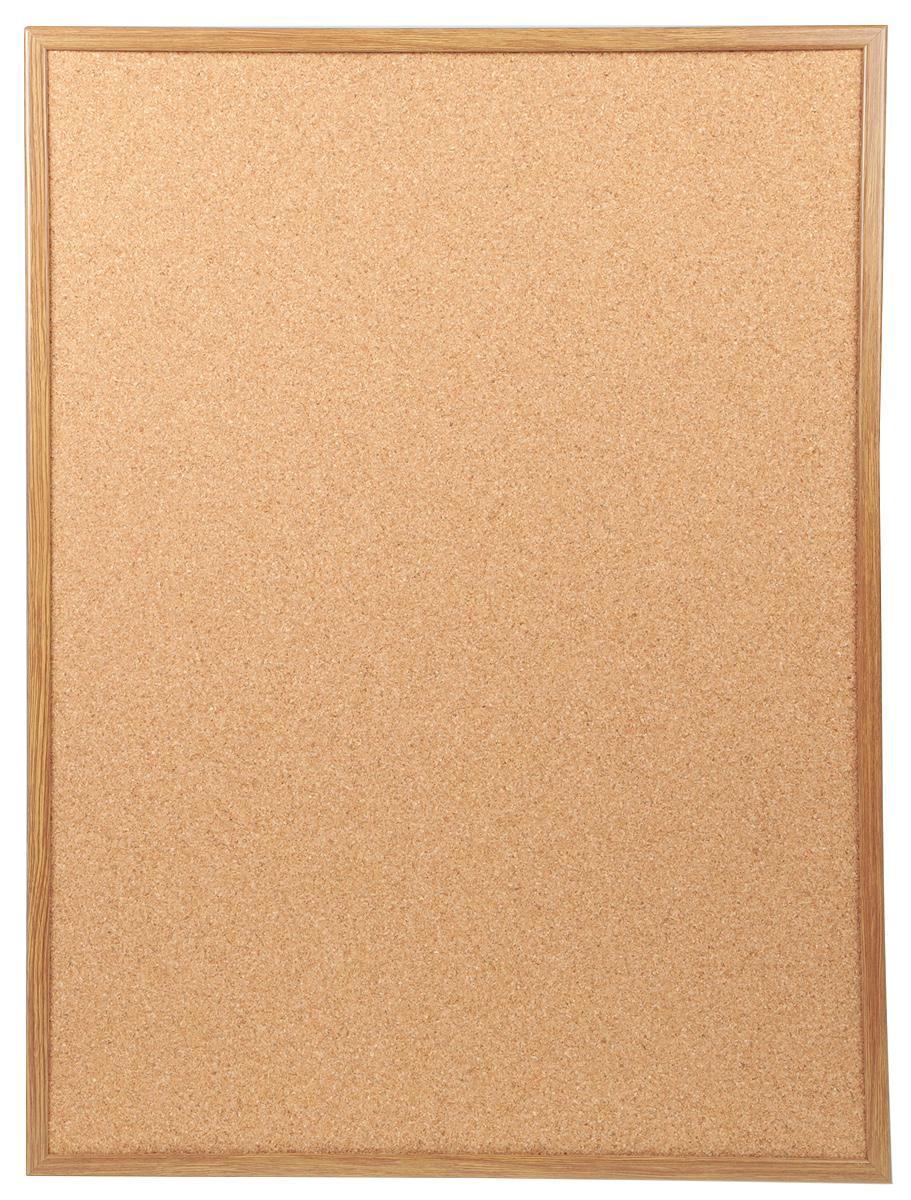 Доска пробковая  Magnetoplan , с деревянной рамкой, 80 см х 60 см -  Доски