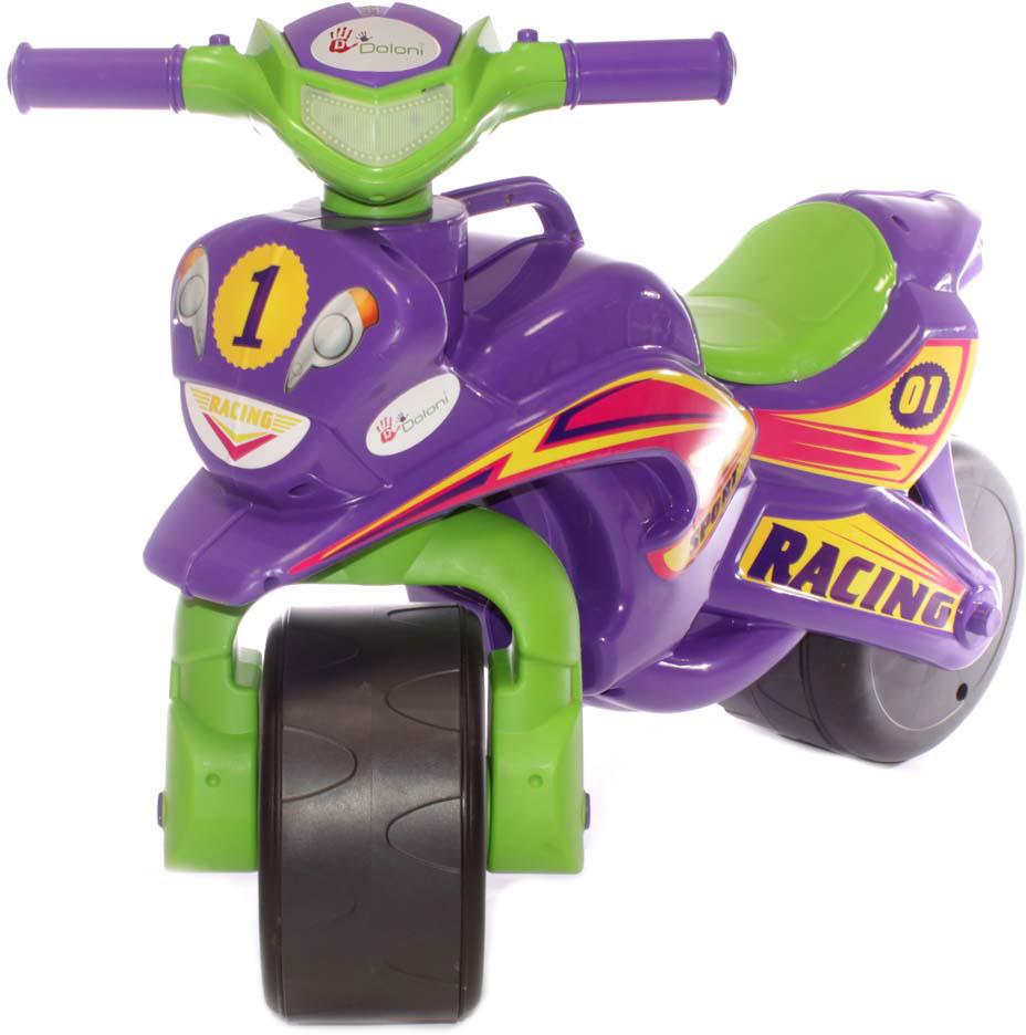 Doloni Байк-каталка Sport, цвет фиолетовый зеленый -  Каталки, понициклы