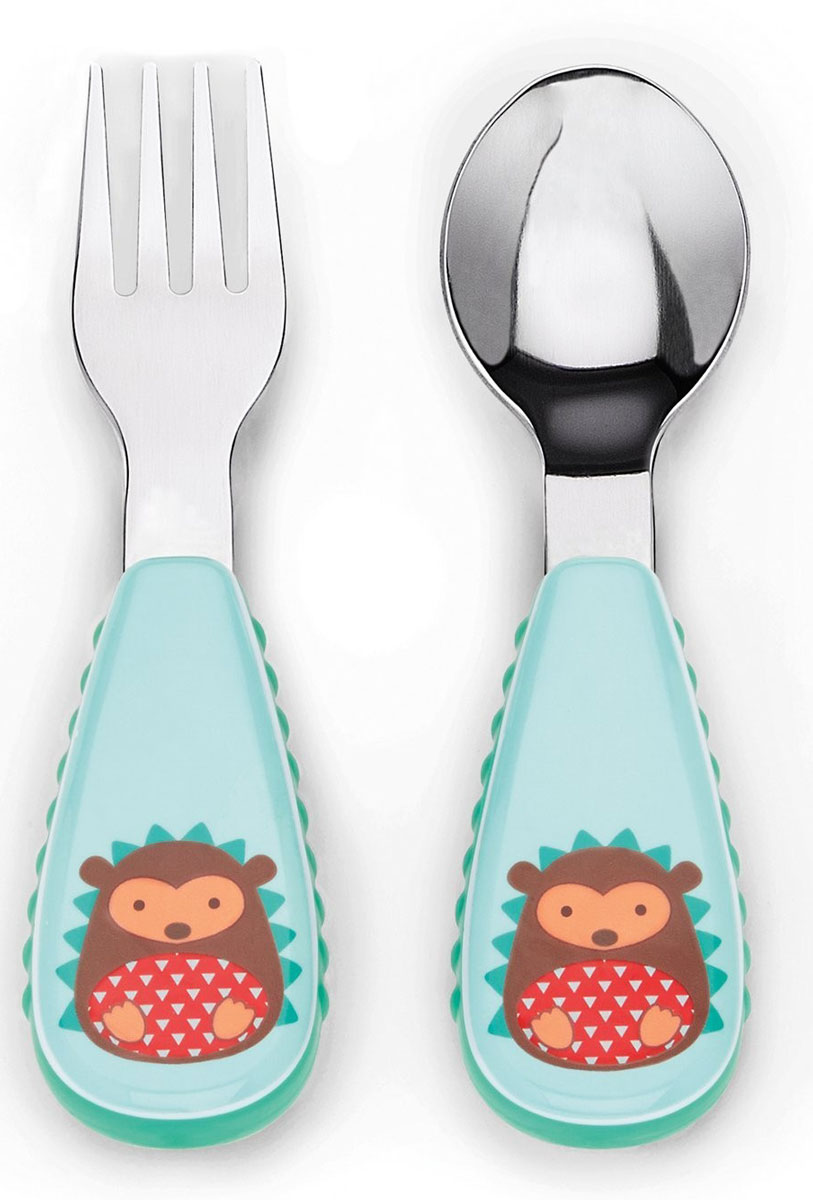 SkipHop Набор детских столовых приборов Ежик -  Все для детского кормления