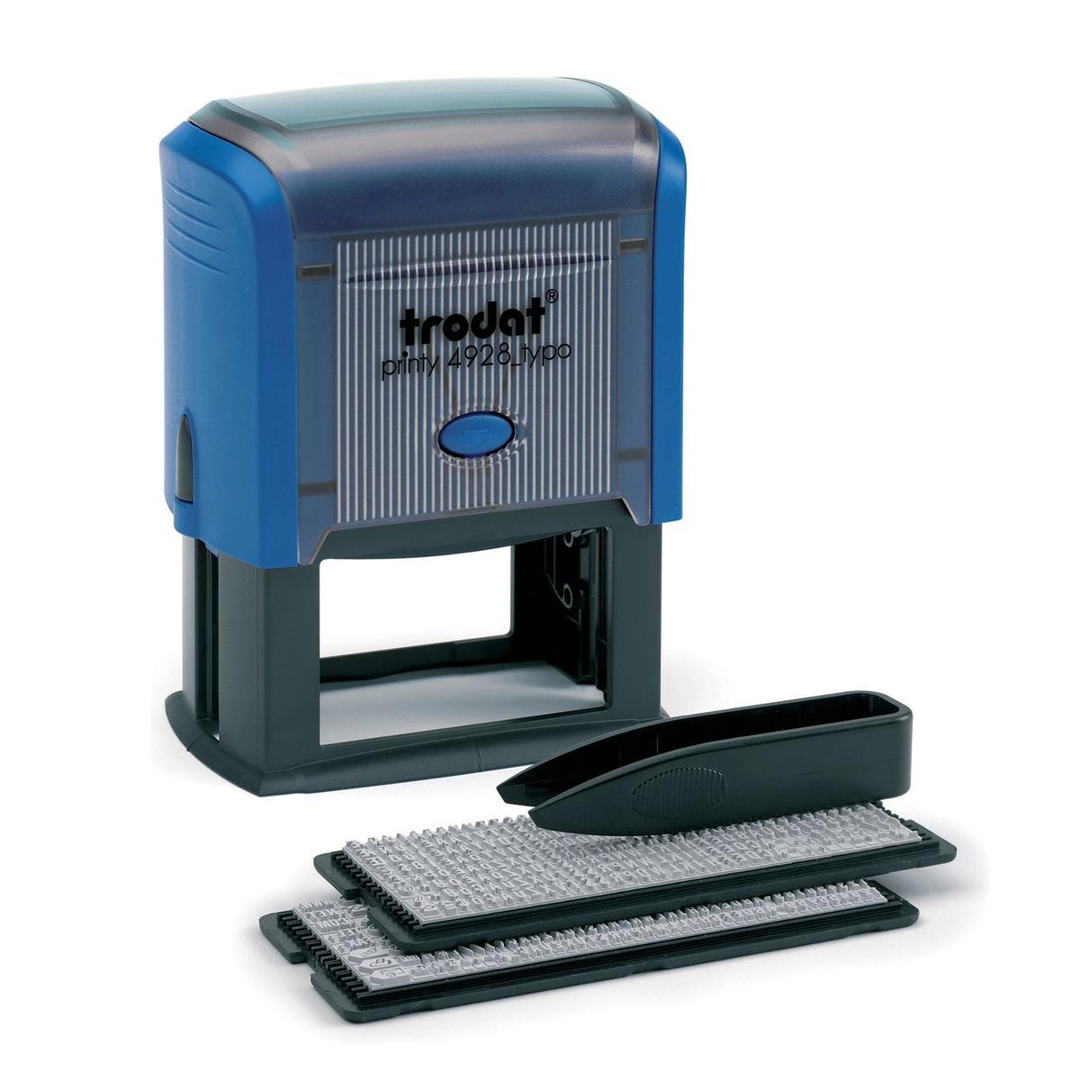Trodat Штамп самонаборный семистрочный 60 х 33 мм -  Печати, штампы
