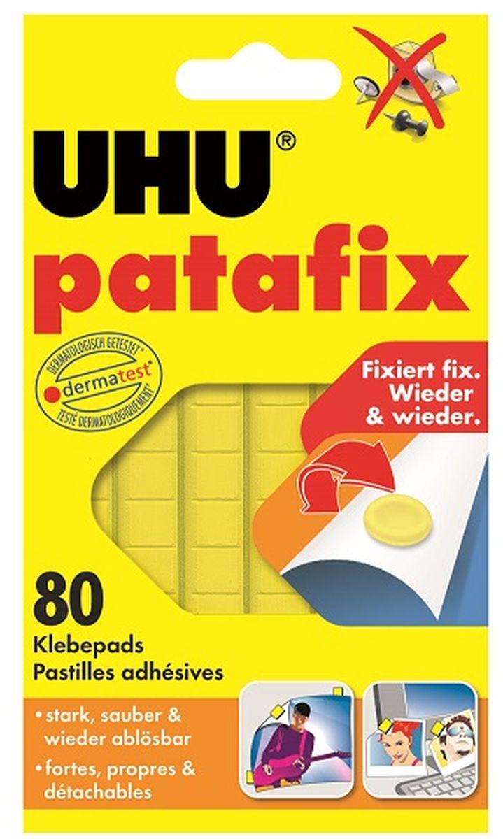 UHU Клеящие подушечки цвет желтый 50140 -  Клейкая лента